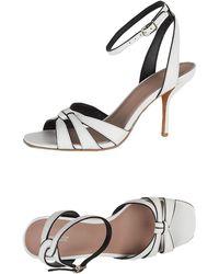 Diane von Furstenberg Sandals - White
