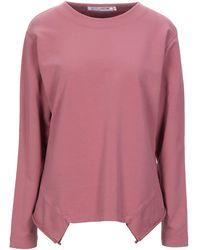 European Culture Sweatshirt - Pink