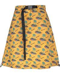 Palm Angels Knee Length Skirt - Yellow