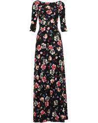 Erdem Langes Kleid - Schwarz
