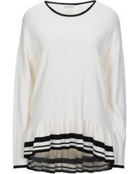 AT.P.CO Pullover - Bianco