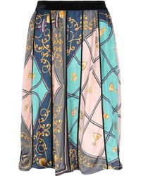 Shirtaporter Knee Length Skirt - Green
