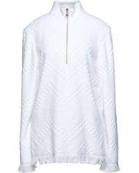 Marine Serre Sweatshirt - White