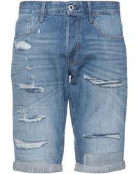 G-Star RAW Bermuda jeans - Blu