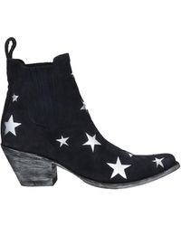 Mexicana Ankle Boots - Blue