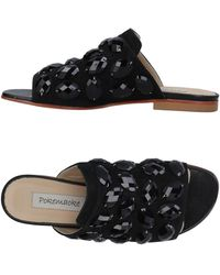 Pokemaoke Sandals - Black