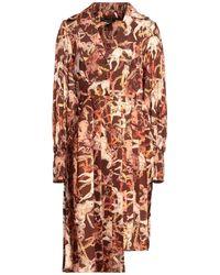 W Les Femmes By Babylon Midi Dress - Brown