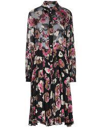 Ainea Knee-length Dress - Black