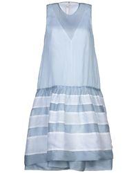 Dondup Knee-length Dress - Blue