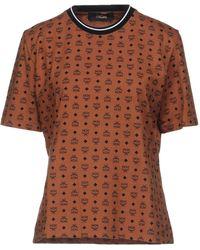 MCM T-shirt - Marrone