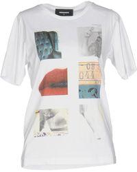 DSquared² - T-shirts - Lyst