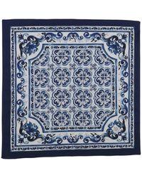 Dolce & Gabbana Foulard - Bleu