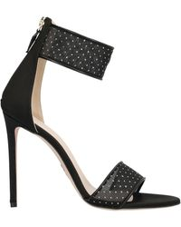 Oscar Tiye Liana Net Sandals - Black