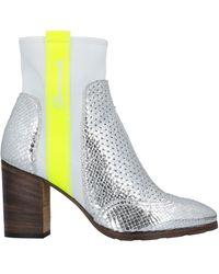 Barracuda Ankle Boots - Metallic