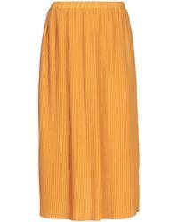 5preview Midi Skirt - Orange