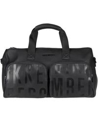 Bikkembergs Travel Duffel Bag - Black