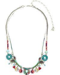 Ayala Bar Necklace - Red