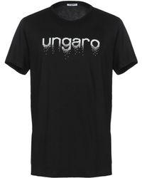 Emanuel Ungaro T-shirt - Noir