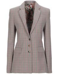 Paco Rabanne Suit Jacket - Brown
