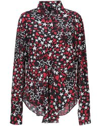 Rossella Jardini - Star And Heart Printed Shirt - Lyst