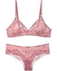 Verdissima Underwear Set - Purple