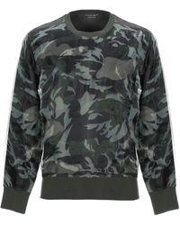 Alexander McQueen Camouflage Sweater - Green