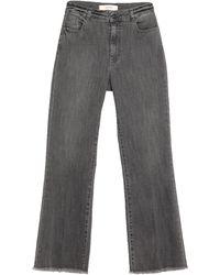 Jucca Denim Trousers - Black
