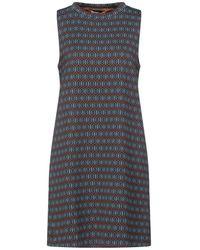 Niu Short Dress - Brown