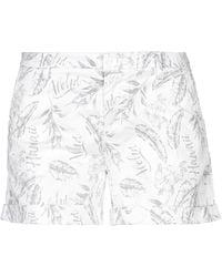 Sun 68 Shorts & Bermuda Shorts - White