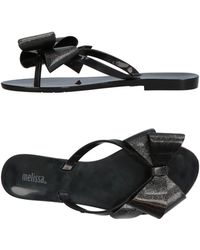 Melissa - Toe Strap Sandals - Lyst