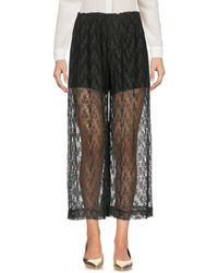 Pf Paola Frani - 3/4-length Trousers - Lyst