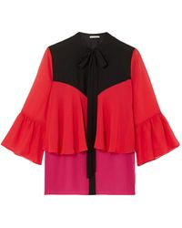 Mary Katrantzou Camisa - Rojo