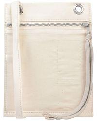 Rick Owens Drkshdw Cross-body Bag - White