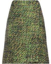 Prada Midi-Rock - Grün