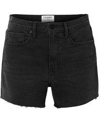 FRAME Denim Shorts - Black