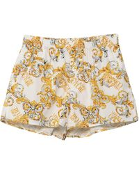 Versace Jeans Couture Shorts & Bermuda Shorts - White
