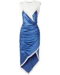 Alexander Wang Robe midi - Bleu