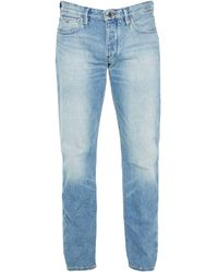 Emporio Armani Denim Trousers - Blue