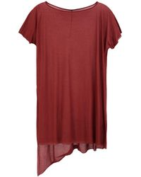 Masnada T-shirt - Red