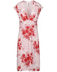 Ermanno Scervino Knee-length Dress - Red