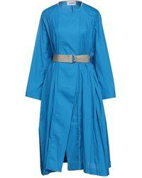 Hache Overcoat - Blue