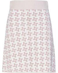 Cruciani Midi Skirt - Multicolour
