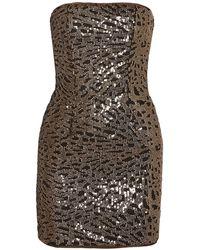 Haney Short Dress - Black