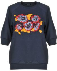 Jil Sander Navy Sweatshirt - Blue