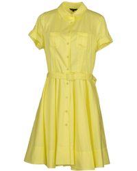 Tara Jarmon Short Dress - Yellow