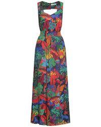 Naf Naf Long Dress - Green