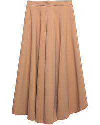 Suoli 3/4 Length Skirt - Natural