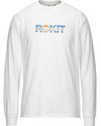 ROKIT T-shirt - White