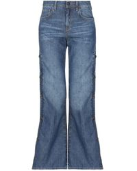 2W2M Denim Trousers - Blue