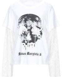 MM6 by Maison Martin Margiela T-shirt - Bianco